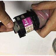 Заправка тонер-картриджа для цветного принтера Ricoh MP C2503H