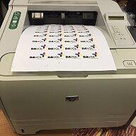 Замена ролика захвата бумаги в нижнем лотке принтера HP P2035