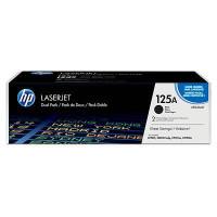 Картридж HP 125A лазерный черный упаковка 2шт (2*2200 стр)