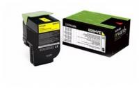 Заправка картриджа Lexmark CX410/CX510 (3К) yellow