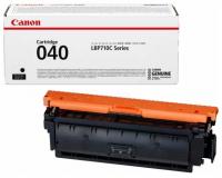 Заправка картриджа CANON 040 BK черный