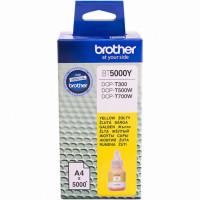 Бутылка чернил Brother BT5000Y для DCPT300/500W/700W/T800DW Yellow, 5000 страниц (А4)