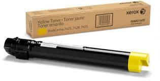 Заправка картриджа XEROX WorkCentre 7525/7545/7835/7845 желтый
